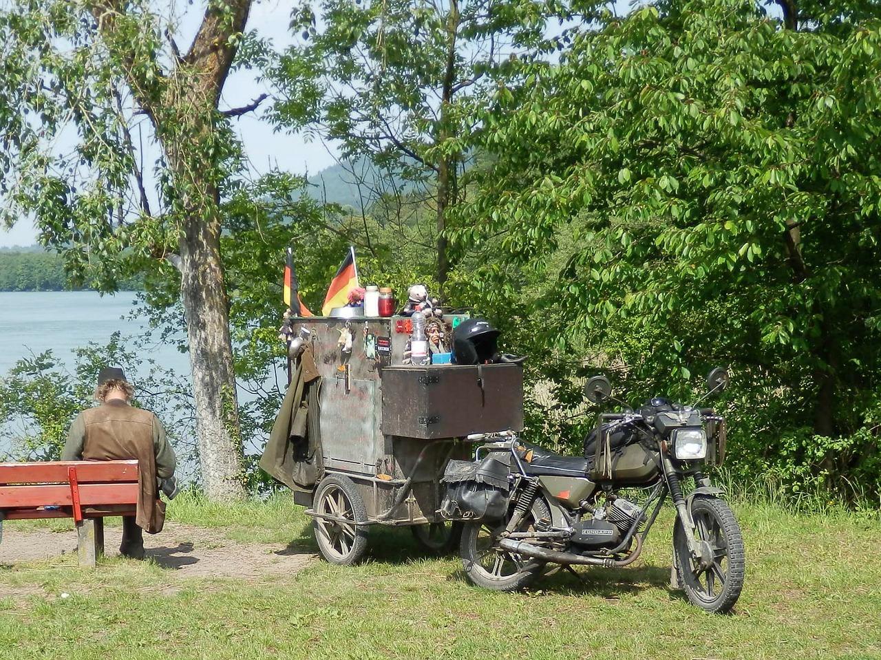 Les astuces pour bien se nourrir lors d'un road-trip à moto